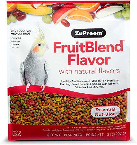 ZuPreem FruitBlend Flavor with Natural Flavors for Medium Birds