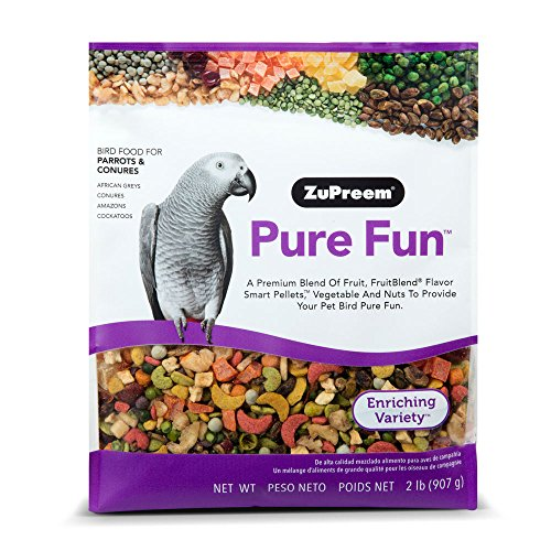 ZuPreem Pure Fun Bird Food for Parrots and Conures