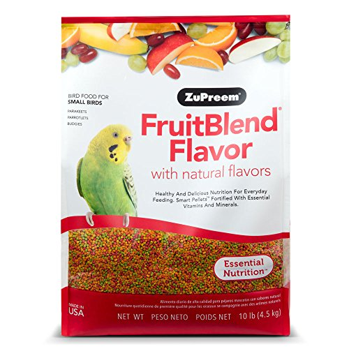 Zupreem 230329 Fruitblend Small Keet Food, 10-Pound