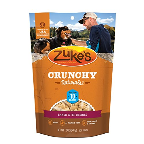 Zuke'S Crunchy Naturals 10S Baked With Berries Dog Treats - 12 Oz. Pouch