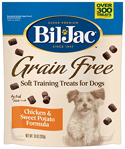 Bil-Jac 319010 Grain Free Soft Chicken Training Treat
