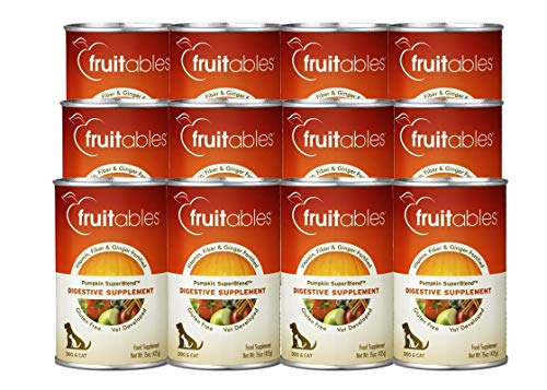 Fruitables Pumpkin Digestive Supplement 15oz (Pack of 12)