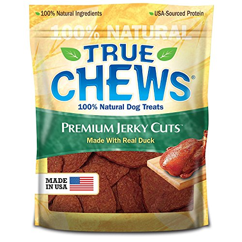 True Chews Premium Jerky Cuts Made with Real Duck, 22 oz