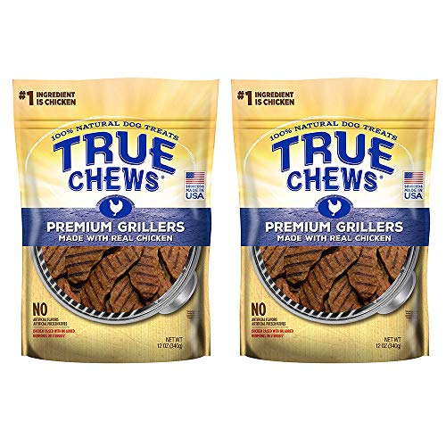True Chews Premium Grillers Made with Real Chicken, 12 oz - 2 Pack