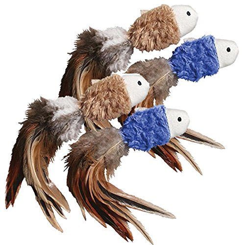 Kong 46616 Naturals Crinkle FISH (Pack of 2)