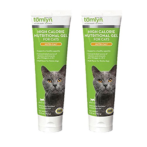 Tomlyn High Calorie Nutritional Gel for Cats, (Nutri-Cal) 4.25 oz
