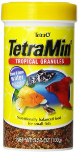 TetraMin Tropical Granules Nutritionally Balanced for Small Fish