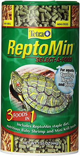 Fauna ReptoMin Select-A-Food for Aquatic Turtles, Newts & Frogs