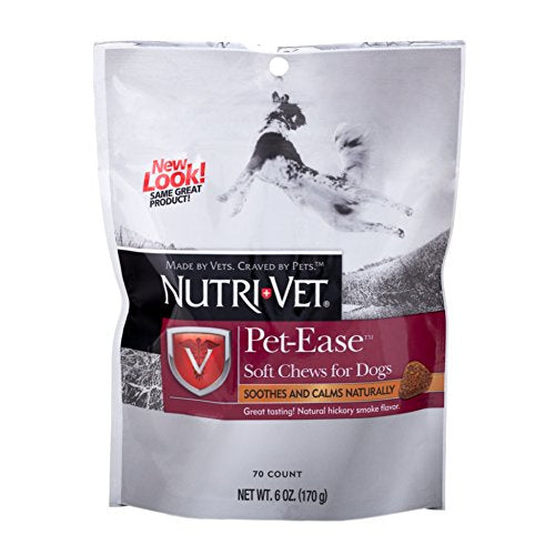 Nutri-Vet Pet-Ease Soft Chews, 70 Count Pack of 1