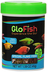 GloFish Special Flake Dry Fish Food for Brightness, 1.6 oz - 77003