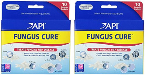 API Fungus Cure Powder 2 Packs of 10