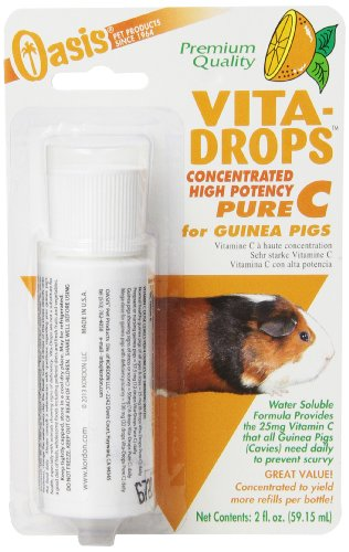 Kordon Oasis Vita-Drops Concentrated High Potency Pure C for Guinea Pigs