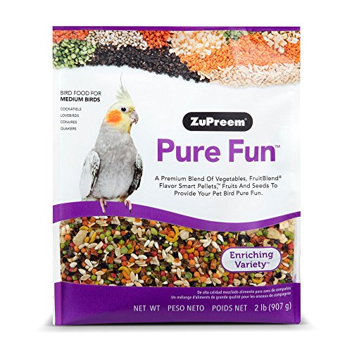 ZuPreem Pure Fun Bird Food for Medium Birds 2 lbs