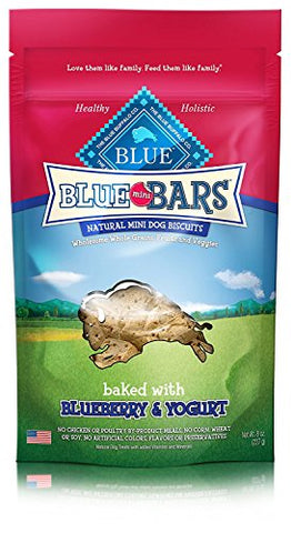 (2 Pack) Blue Bars Mini Blueberry and Yogurt