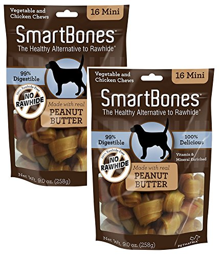 SmartBones Value PB Mini 16Pk (Mini-16 pieces (Pack 2))