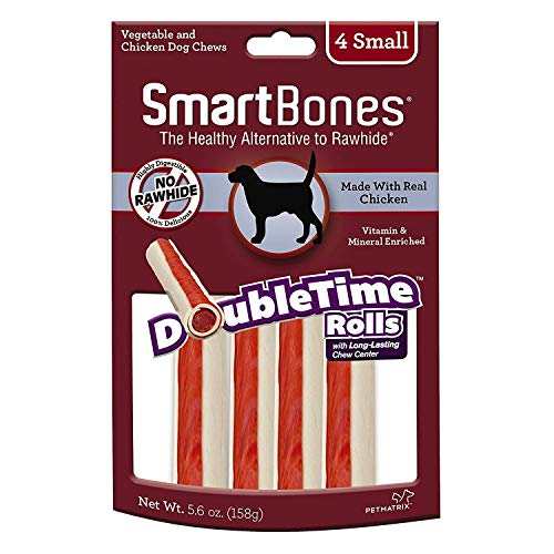 Smartbone DoubleTime Chicken Dog Chew FamilyValue 2Pack (Medium-3Pieces)