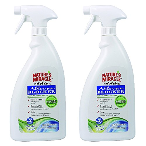 Nature's Miracle Allergen Blocker Air and Surface Spray 64 fl. oz. (NM-5438)