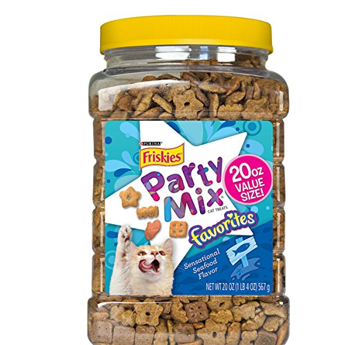 Purina Friskies Party Mix Favorites Cat Treats