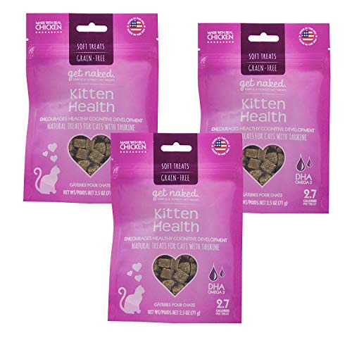 Get Naked 1 Pouch Kitten Health Soft Treats, 7.5 oz