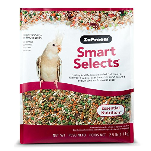 ZuPreem Smart Selects? Daily Bird Food For Cockatiels & Lovebirds