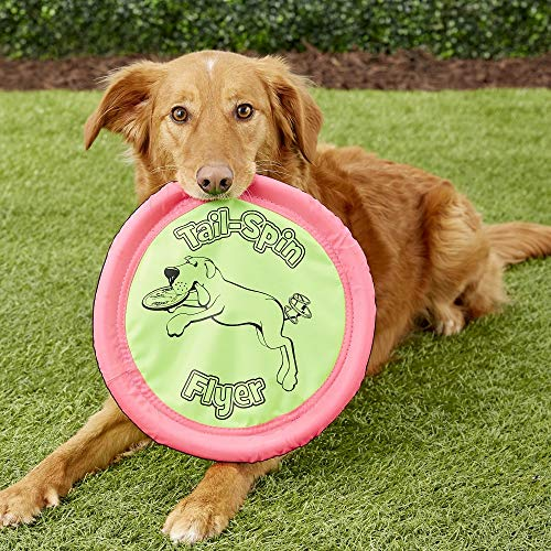 Petmate Booda Tail-Spin Flyer Floating Dog Frisbee 3 Sizes Available