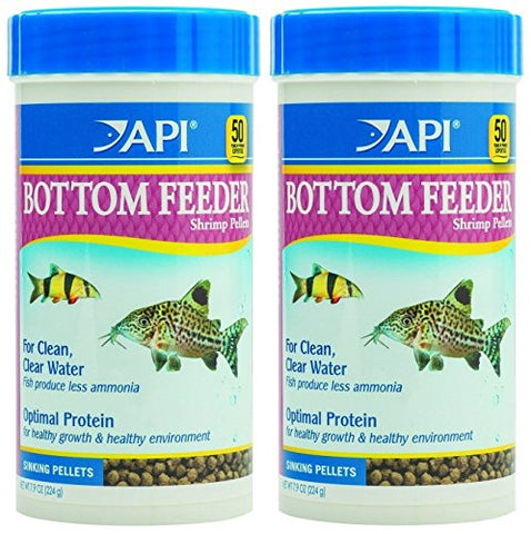 API Bottom Feeder Shrimp Pellet 7.9 Ounce (2 Pack)