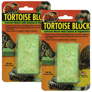 Zoo Med Laboratories SZMBB55 Tortoise Banquet Block, Net WT 10 oz