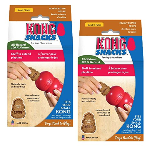 KONG Stuff'N Peanut Butter Snacks Anytime Dog Treats (2 Pack)