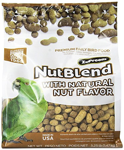 ZuPreem Nutblend Diet Bird Food 6.5 lbs