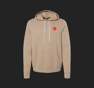 Dear Hair, I Love you Soft Hoodie Tan (unisex cut)