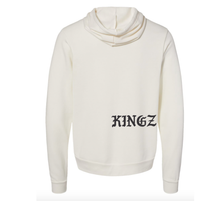 Load image into Gallery viewer, King of Heartz  Soft Hoodie  (unisex cut) Vintage White