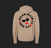 Load image into Gallery viewer, Dear Hair, I Love you Soft Hoodie Tan (unisex cut)