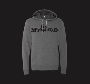 Grey So Melanated Soft Hoodie  (unisex cut)
