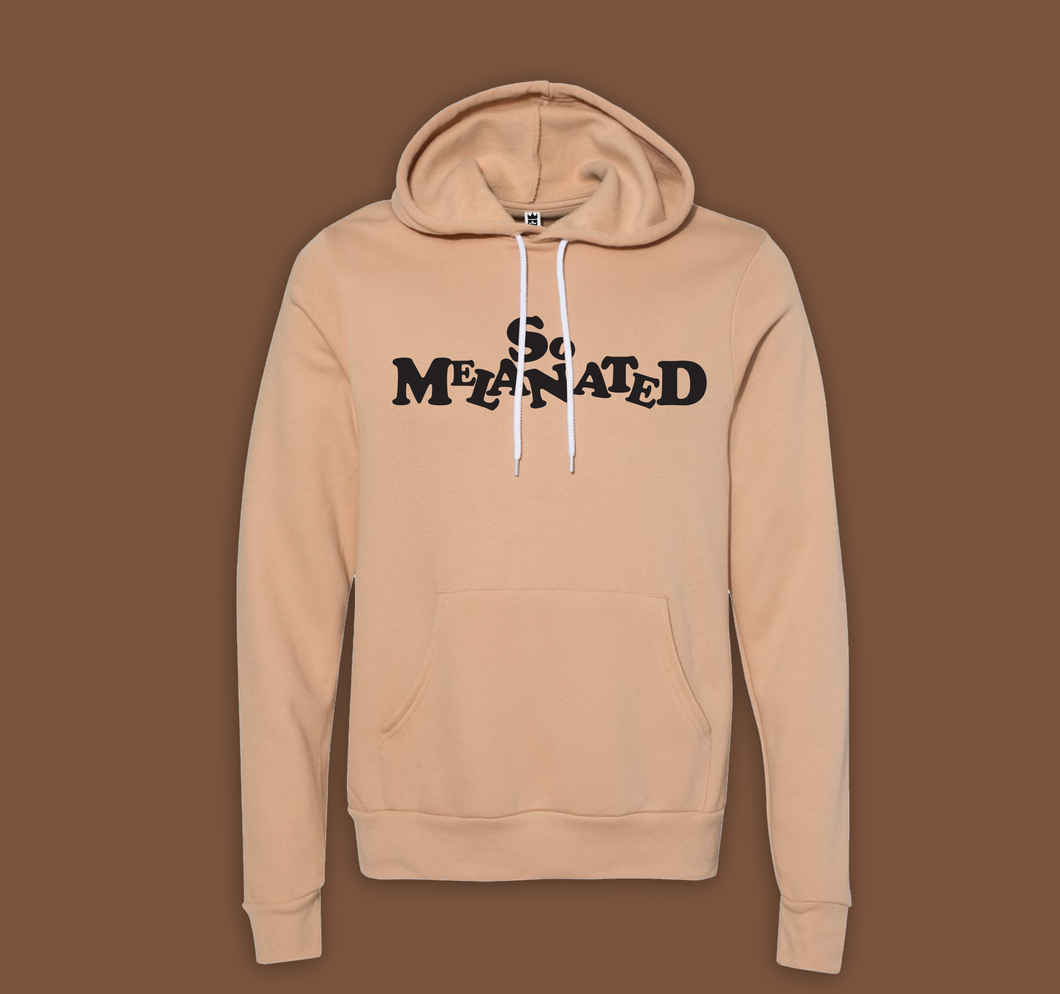 So Melanated Soft Hoodie Sandy (unisex cut)