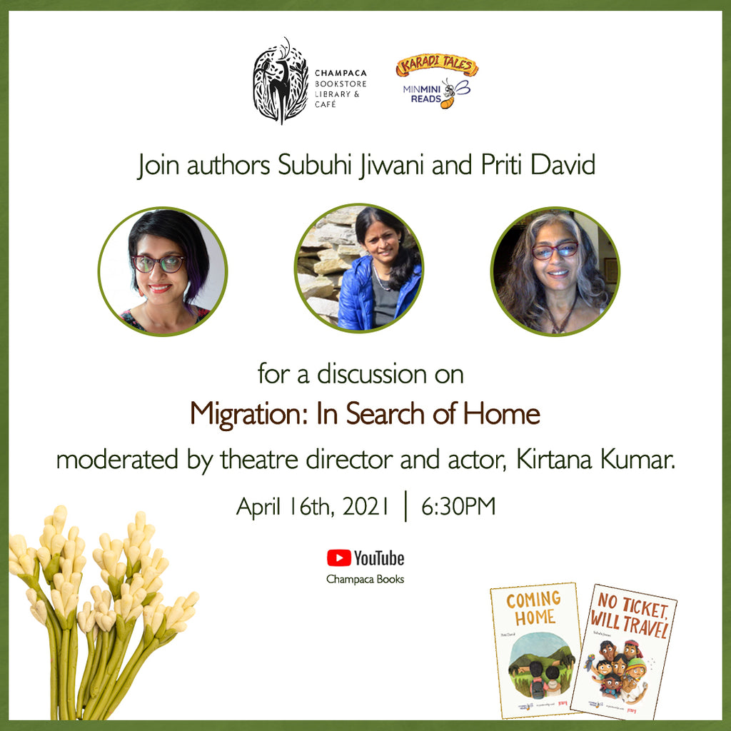 Migration: In Search of Home – Conversation with Subuhi Jiwani, Priti David and Kirtana Kumar