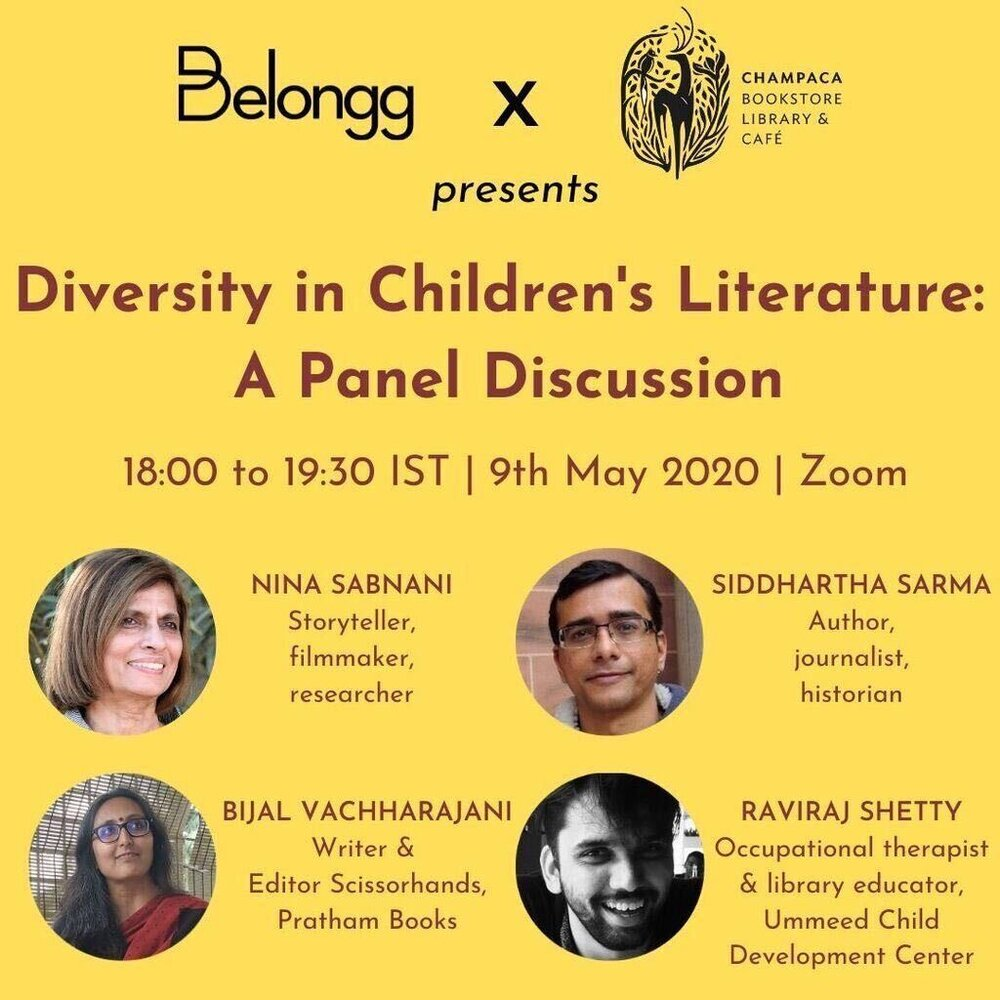 Online Event: Belongg & Champaca presents Diversity in Children's Literature