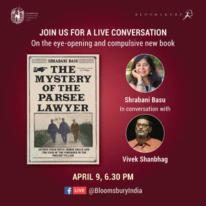 The Mystery of the Parsee Lawyer – Conversation with Shrabani Basu and Vivek Shanbhag