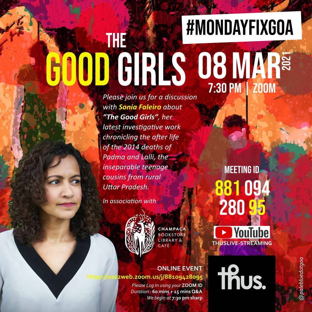 The Good Girls – Conversation with Sonia Faleiro