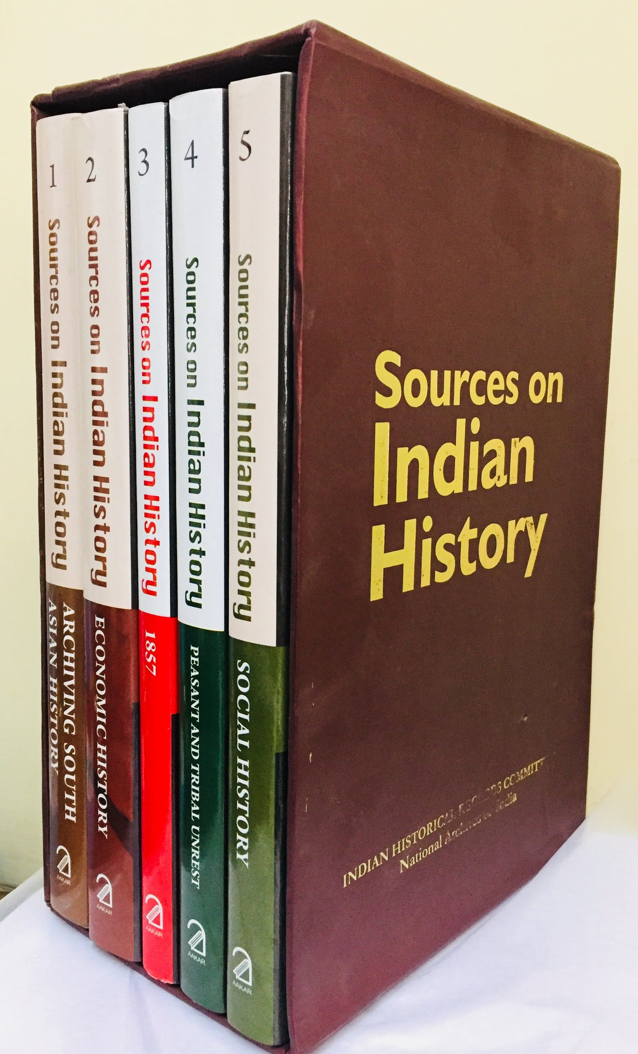 Sources On Indian History Vol. 2: Economic History