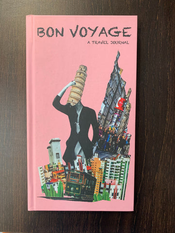 Bon Voyage: A Travel Journal - Collagezine