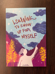 Learning To Show Up For Myself - Notebook