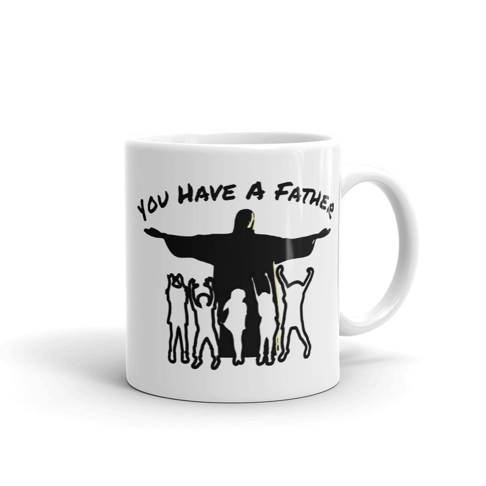 He Died on the Cross for You Mug