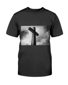 Gildan Ultra Cotton Men's Cross T-Shirt (Black)