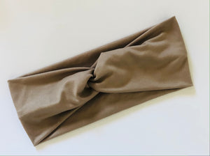 Tan Twist Headband