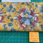 Mustard Bouquet (Mega Scale) Cotton Lycra