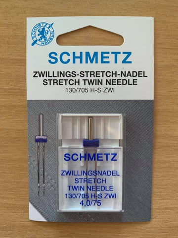 Schmetz Stretch Twin Needle 4mm