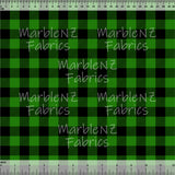 Plaid Checkers Green