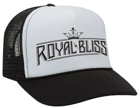 Royal Bliss Trucker Hat (Black/White)