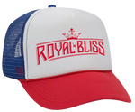 Royal Bliss Trucker Hat (Red/White/Blue)