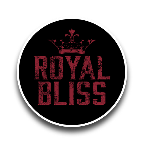 Royal Bliss Sticker